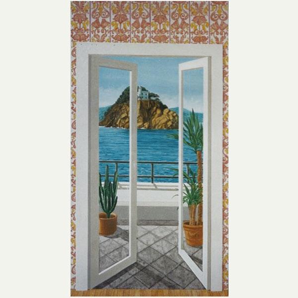 Dipinti su commissione - Una finestra sul mare ...